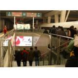 户外广告-北京南站到达楣头灯箱