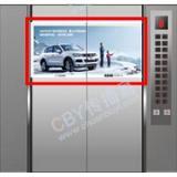 杭州电梯门广告-展示面更大,广告效果...